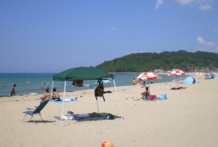 江津市の海水浴場・キャンプ